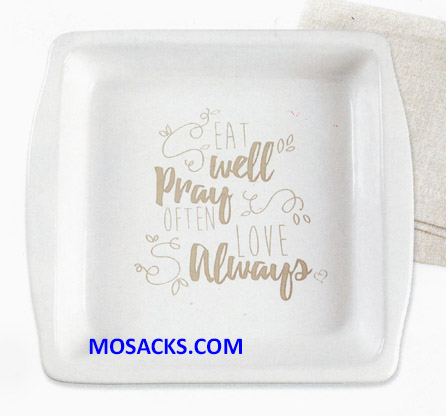 "Bountiful Blessings Brownie Pan 9"" x 9"" 182422"
