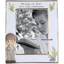 Precious Moments Communion Blessings Frame Boy - 123411