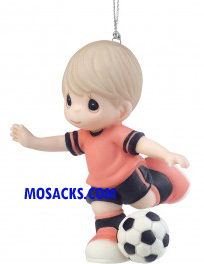 Precious Moments I Get A Kick Out of You Soccer Boy Ornament-161039