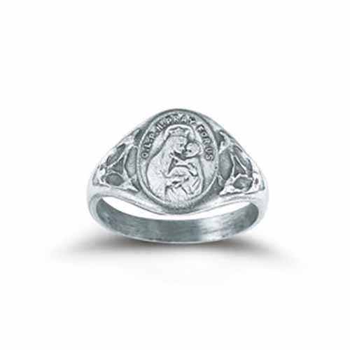 Ring O.L. of Mt. Carmel with Sacred Heart Sizes: 5-9 R4202