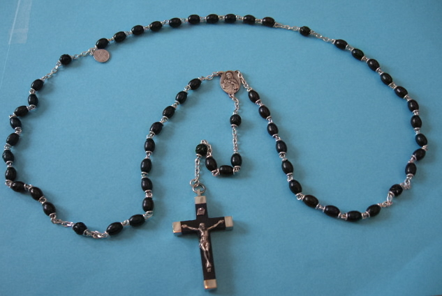 Wood, Onyx & Hematite Rosaries
