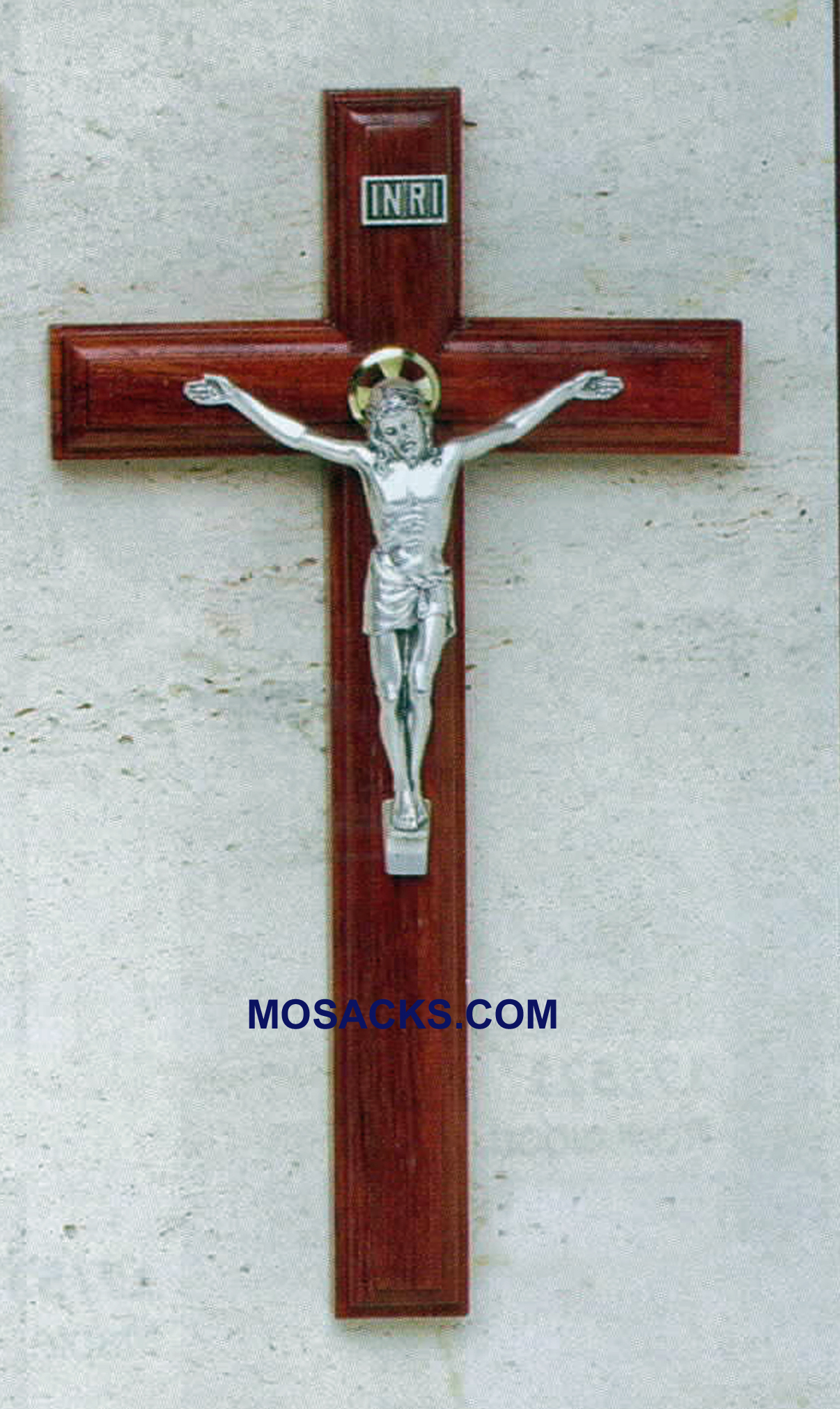 Rosewood Crucifix with Salerni Corpus 9 inch 17/426