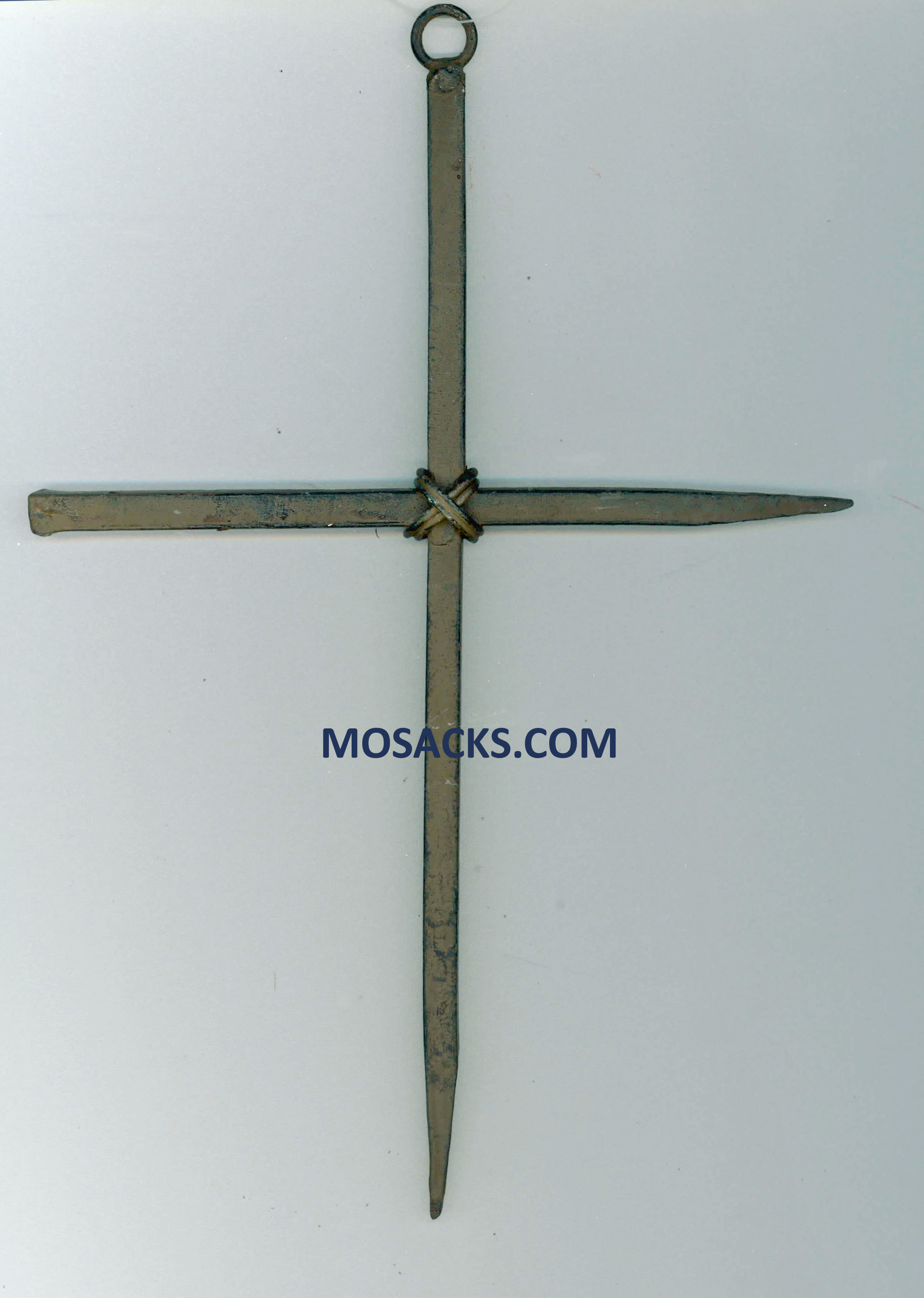 Rustic Nail Cross 9 Inch 71-MWC313