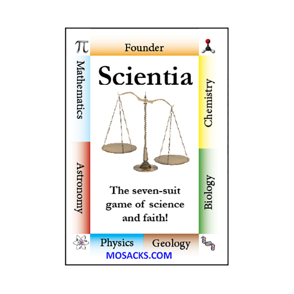 Scientia Flash Cards and Playing Card Game 9781601041043