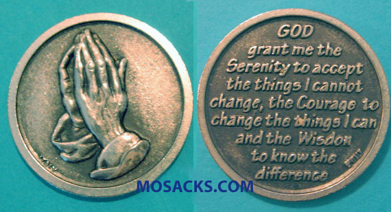 Serenity Prayer Pocket Coin