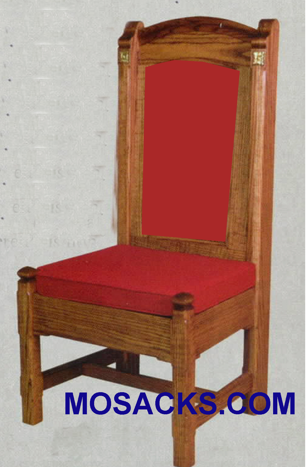 "Side Chair w/padded back  29"" w x 24"" d 52"" h 147P"