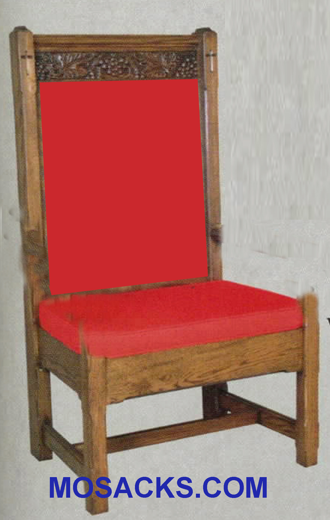 "Side Chair  w/o arms w/padded back 24"" w x 23"" d 48"" h 151P"