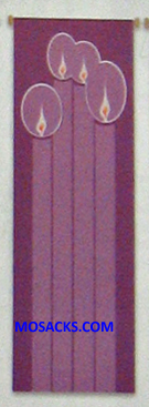 Slabbinck Large Inside Banner Advent Candle 7119