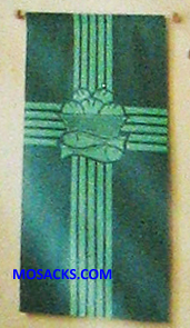 Slabbinck Small Inside Banner Eucharist Cross & Fish 7213