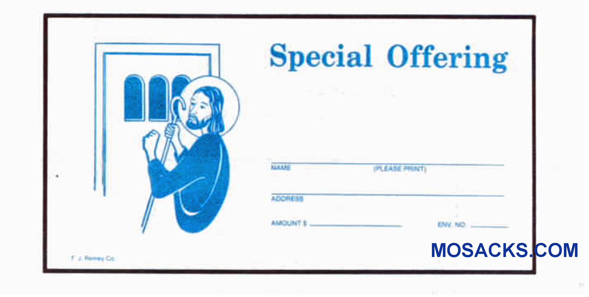 Special Offering - Church Offering Envelope 6-1/4 x 3-1/8 #304-378