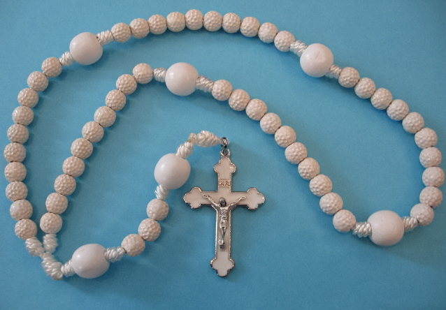 "22"" Golf Ball Rosary"