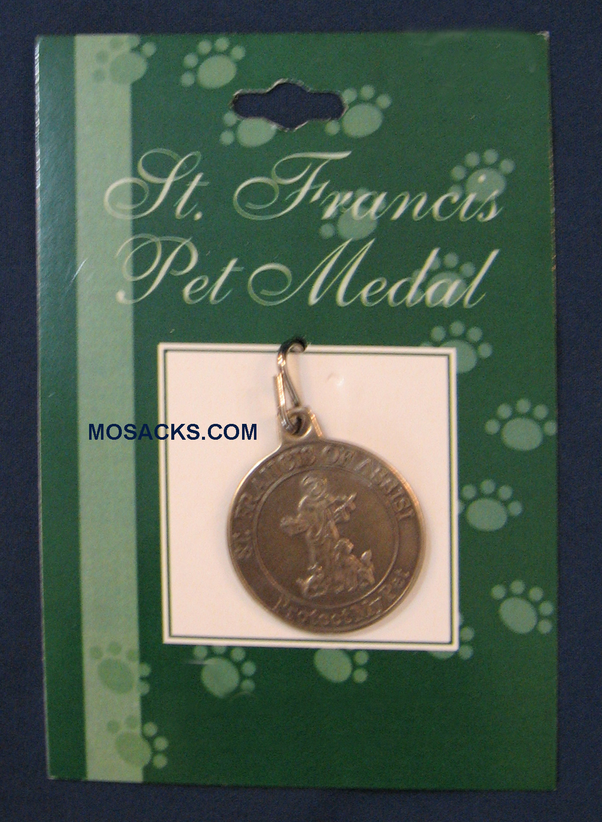 St. Francis Pet Collar Medal 17168