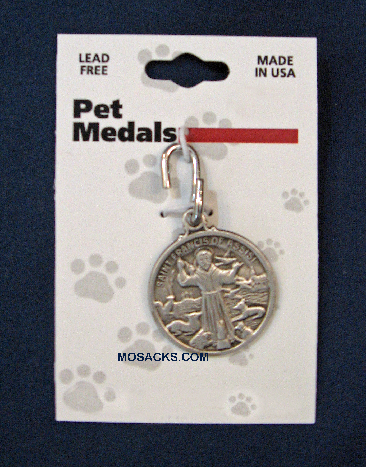 St. Francis Pewter Pet Medal 699-4800SX