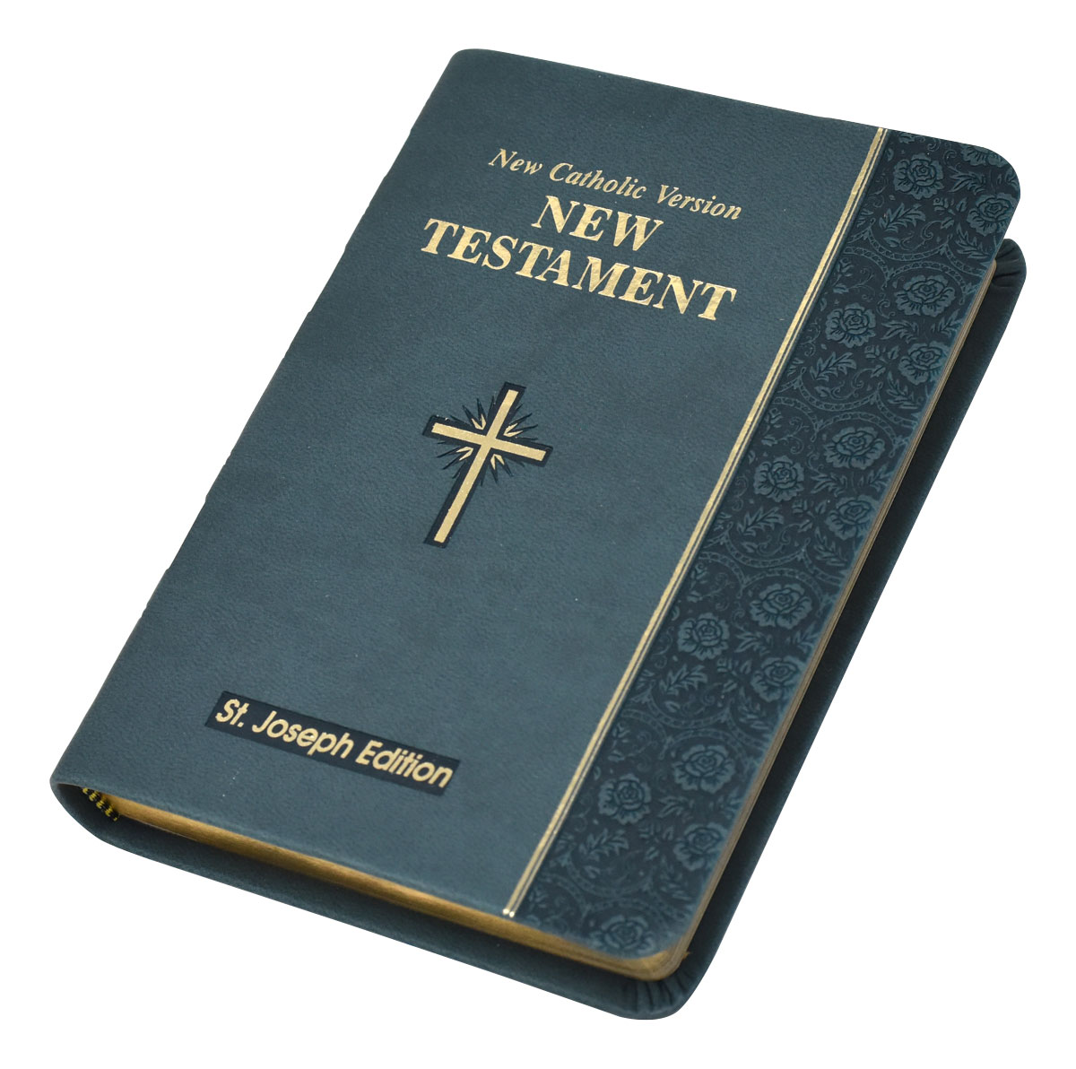 St. Joseph New Catholic Version New Testament Vest Pocket Edition Slate Dura Lux 650/19SL