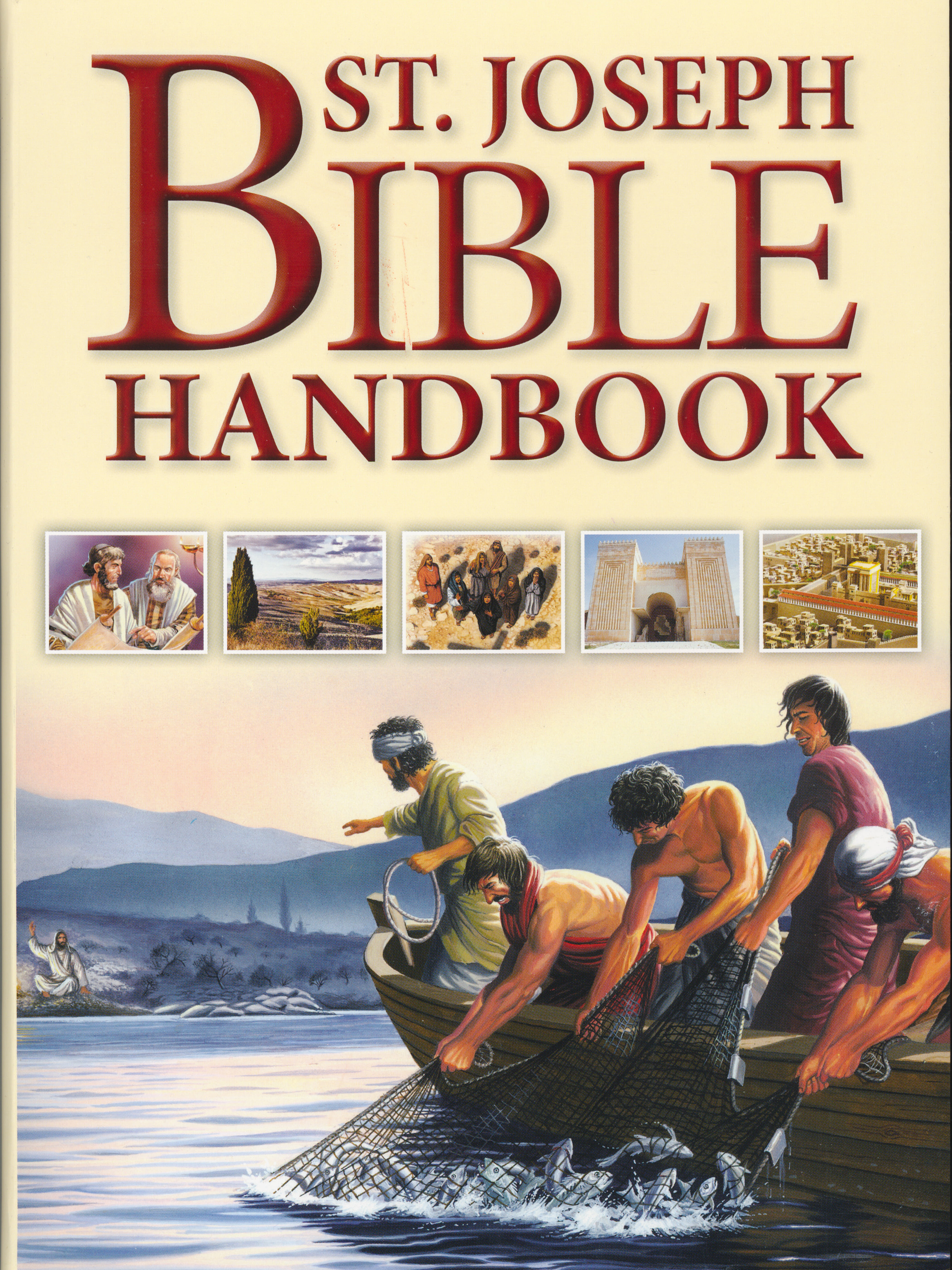 St. Joseph Bible Handbook (649/04) from Catholic Book Publishing 60-9781941243985