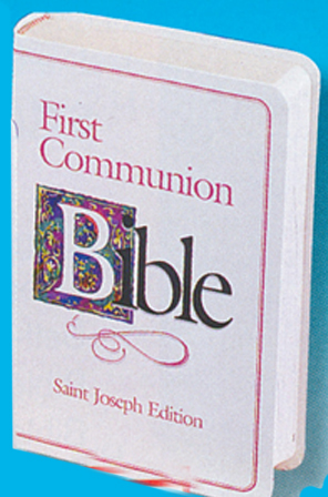 St. Joseph N.A.B. First Communion Bible - Girl N.A.B.R.E.  60-9780899429564 609/22FCG