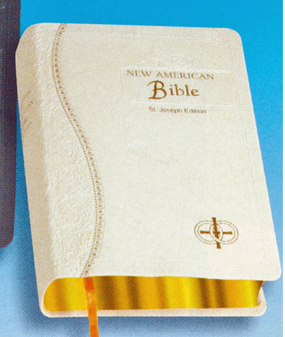 St. Joseph NABRE Medium Size Dura-Lux White Bride's Bible 9780899426006 609/51W
