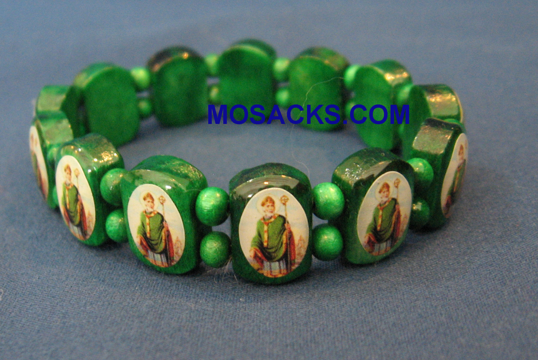 St. Patrick Stretch Bracelet, BP06PAT