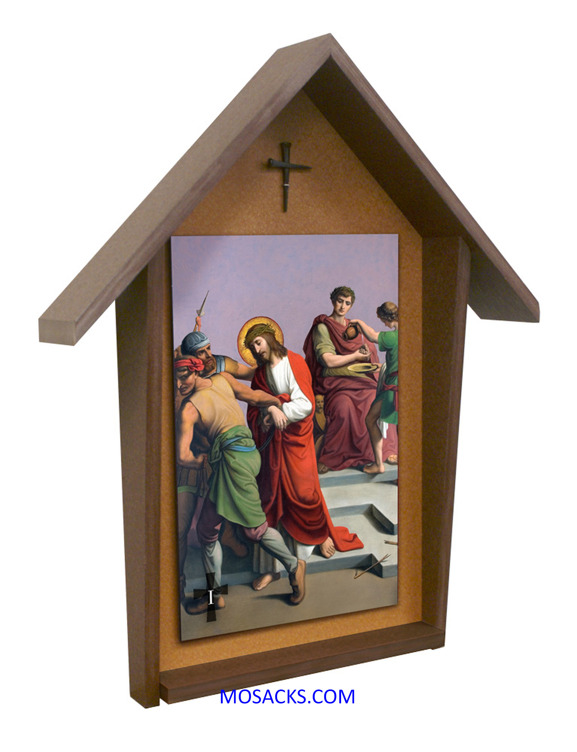 St Peter Stations Of The Cross  Poly Wood Outdoor Deluxe Shrine Set of 14 Stations FREE SHIPPING