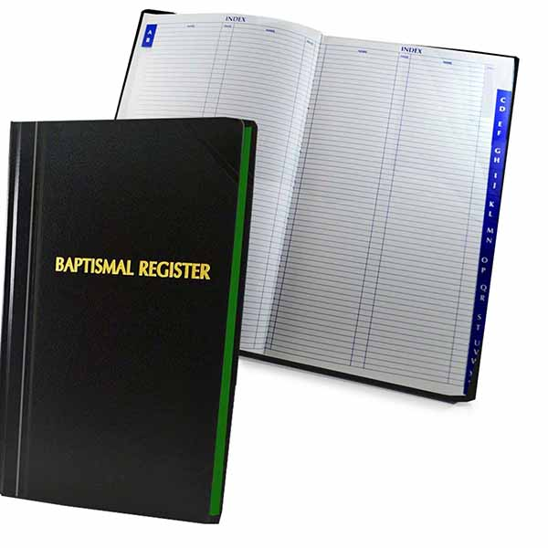 Church Register Books