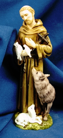 St. Francis With Animals Statue #I282