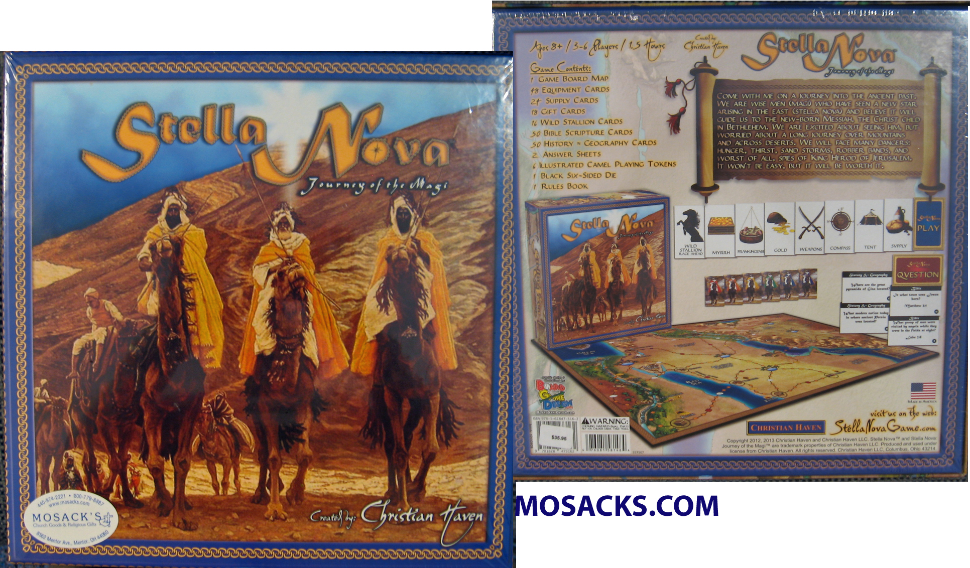 Stella Nova Journey of the Magi Game