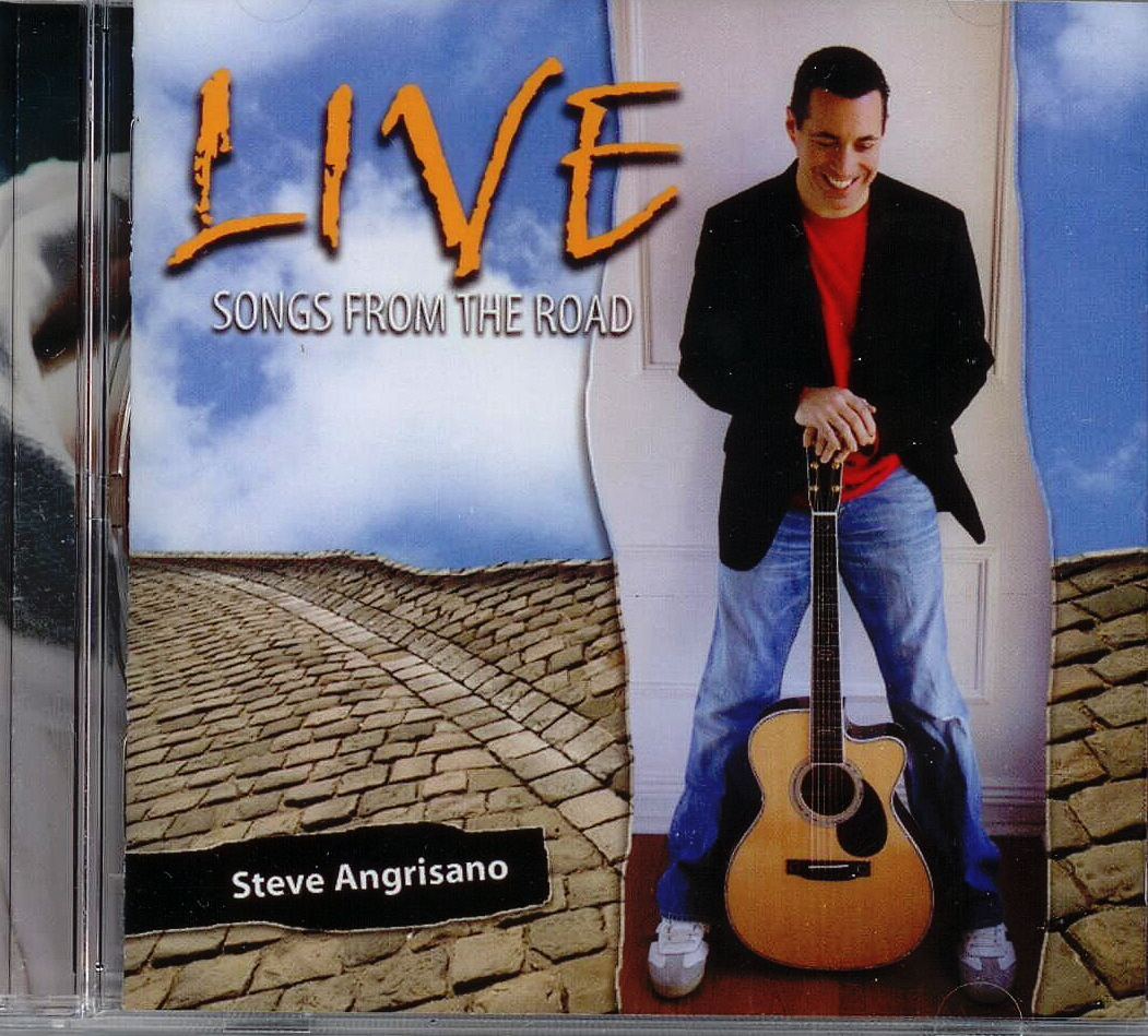 Steve Angrisano, Artist; Live: Songs from the Road, Title; Music CD