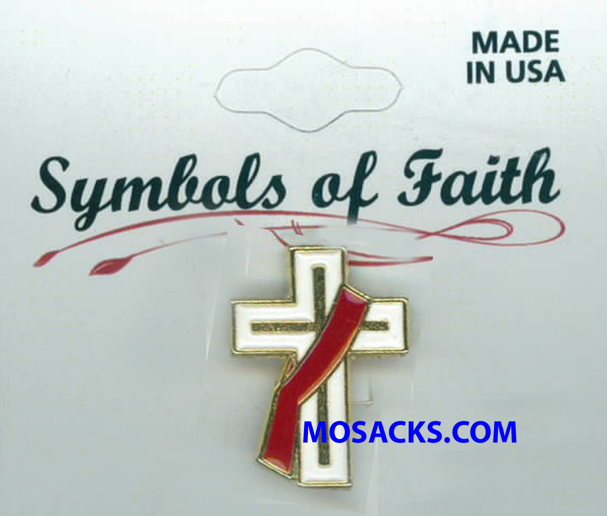 Deacon Pin Symbols of Faith Deacon Lapel Pin #TO52851G