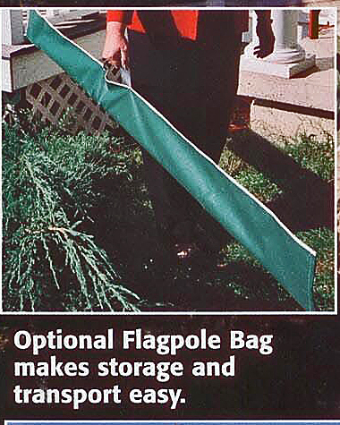 Telescoping Flagpole Carry Bag