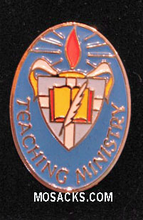 Teaching Ministry Enameled-Colored Lapel Pin, #B-57