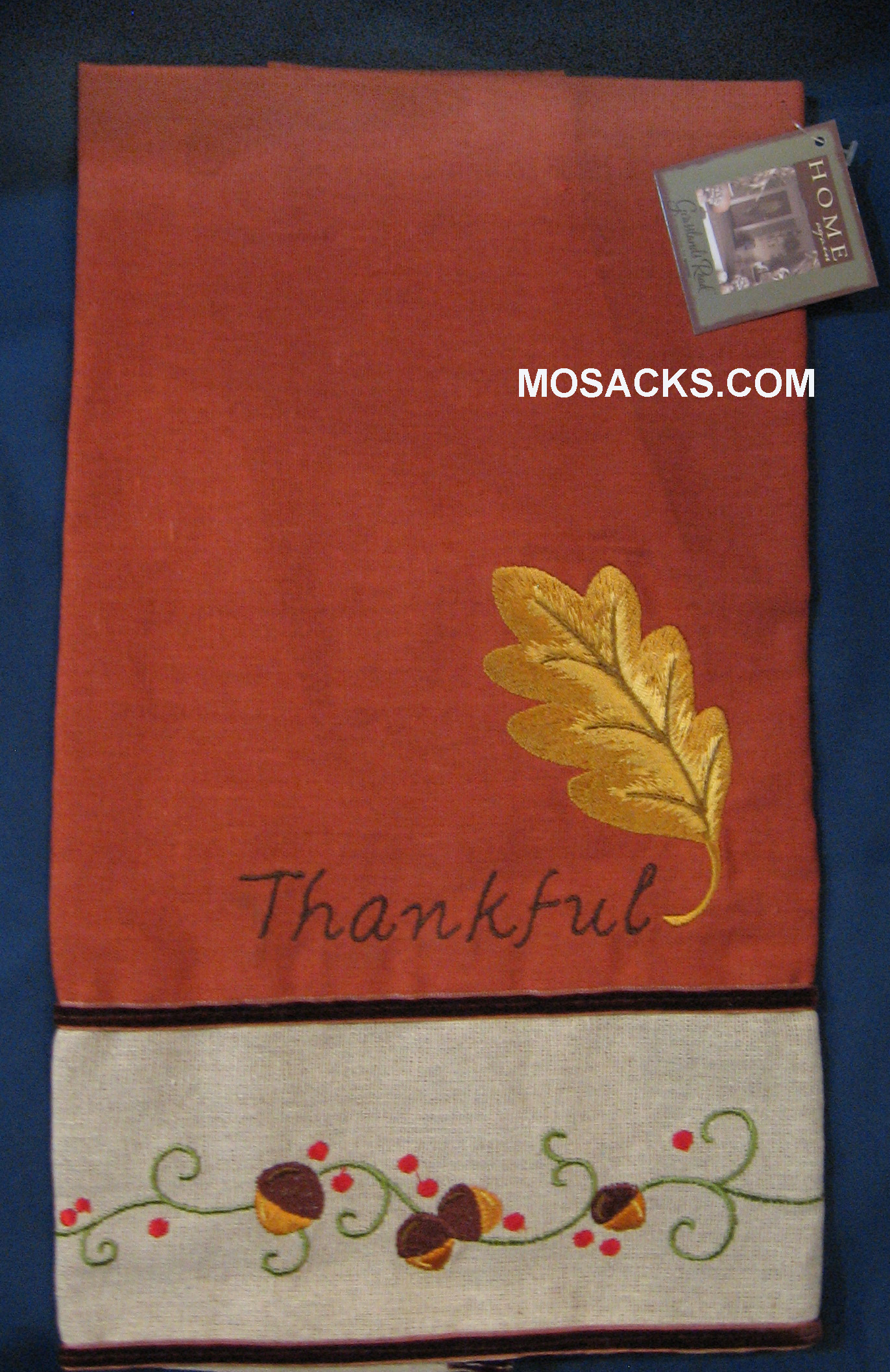 "Thanksgiving Tea Towel 24"" W x 26""L 468197"