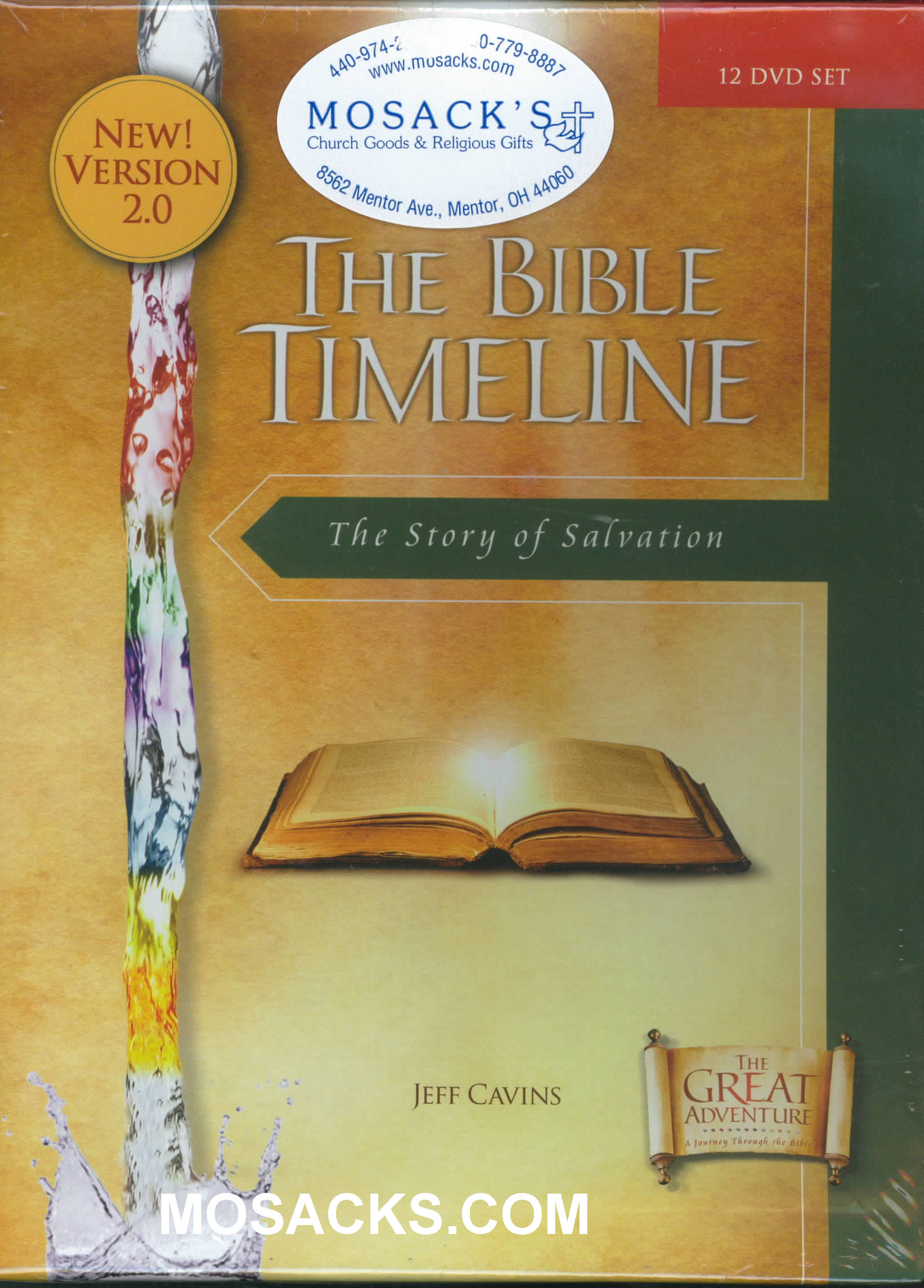 DVD-Bible Timeline 12 DVD Set by Jeff Cavins 388-811661010044