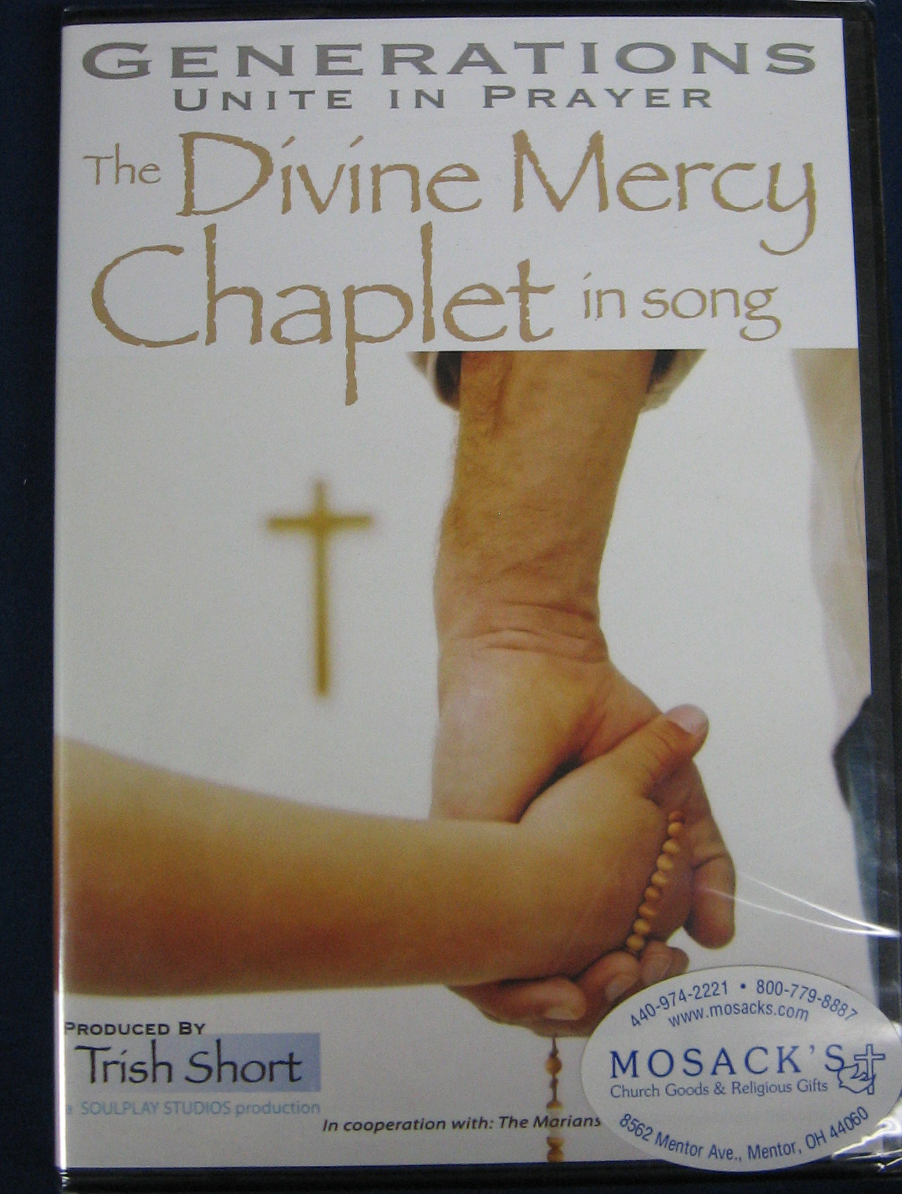 The Divine Mercy Chaplet In Song DVD-9781596141759 Generations Unite in Song Divine Mercy Chaplet DVD