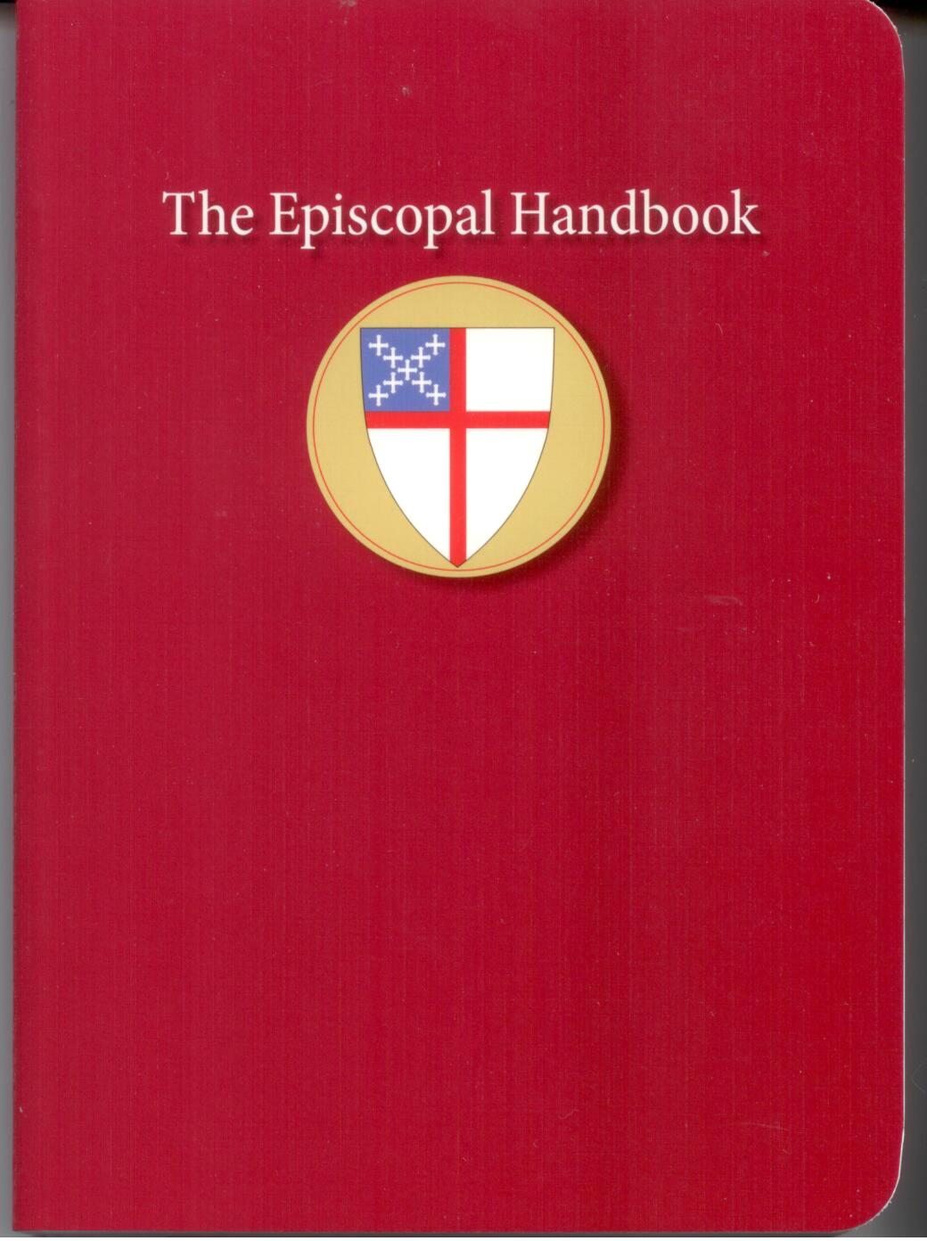 The Episcopal Handbook by Morehouse Publishing 108-9780819223296