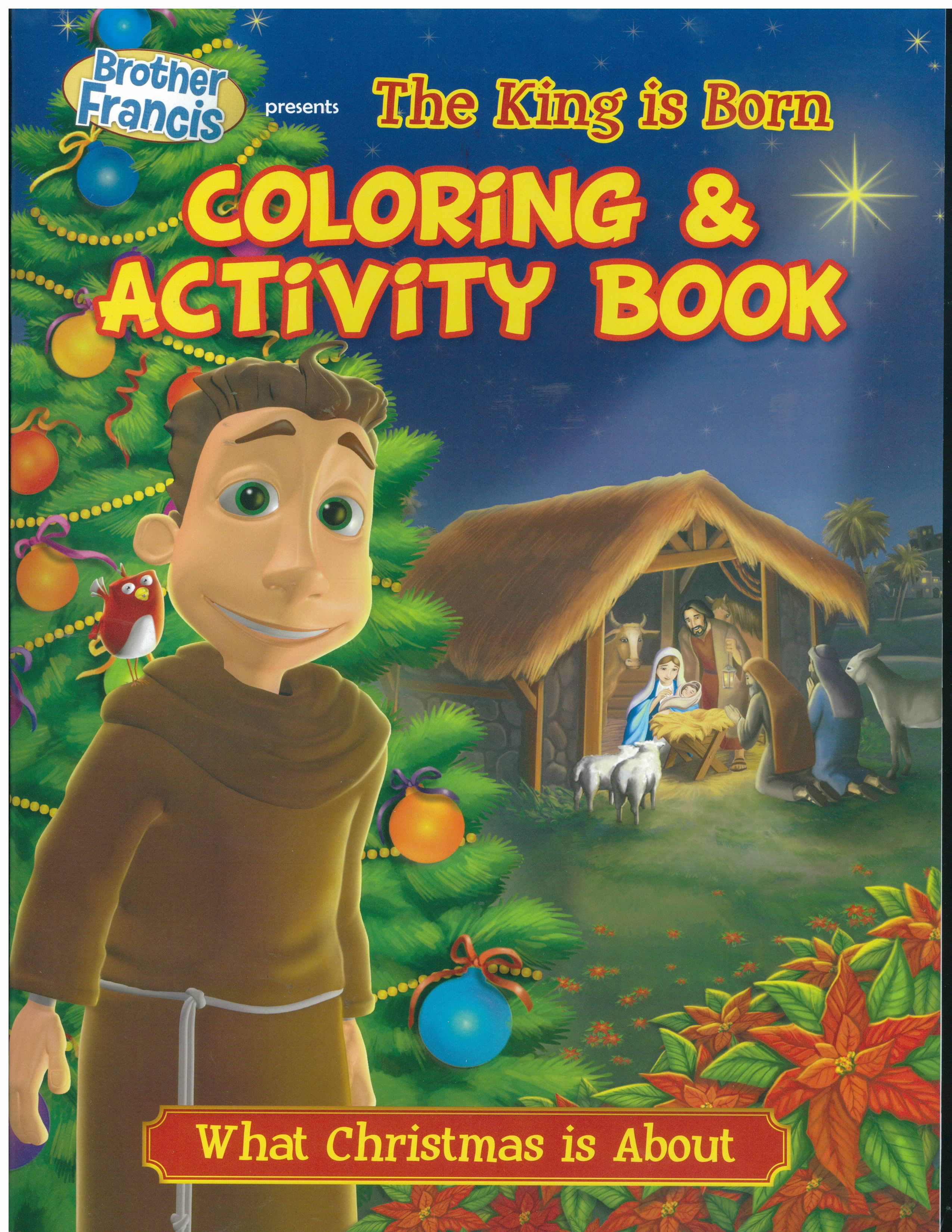 The First Christmas Color and Grow Coloring Book-CAG-TFC
