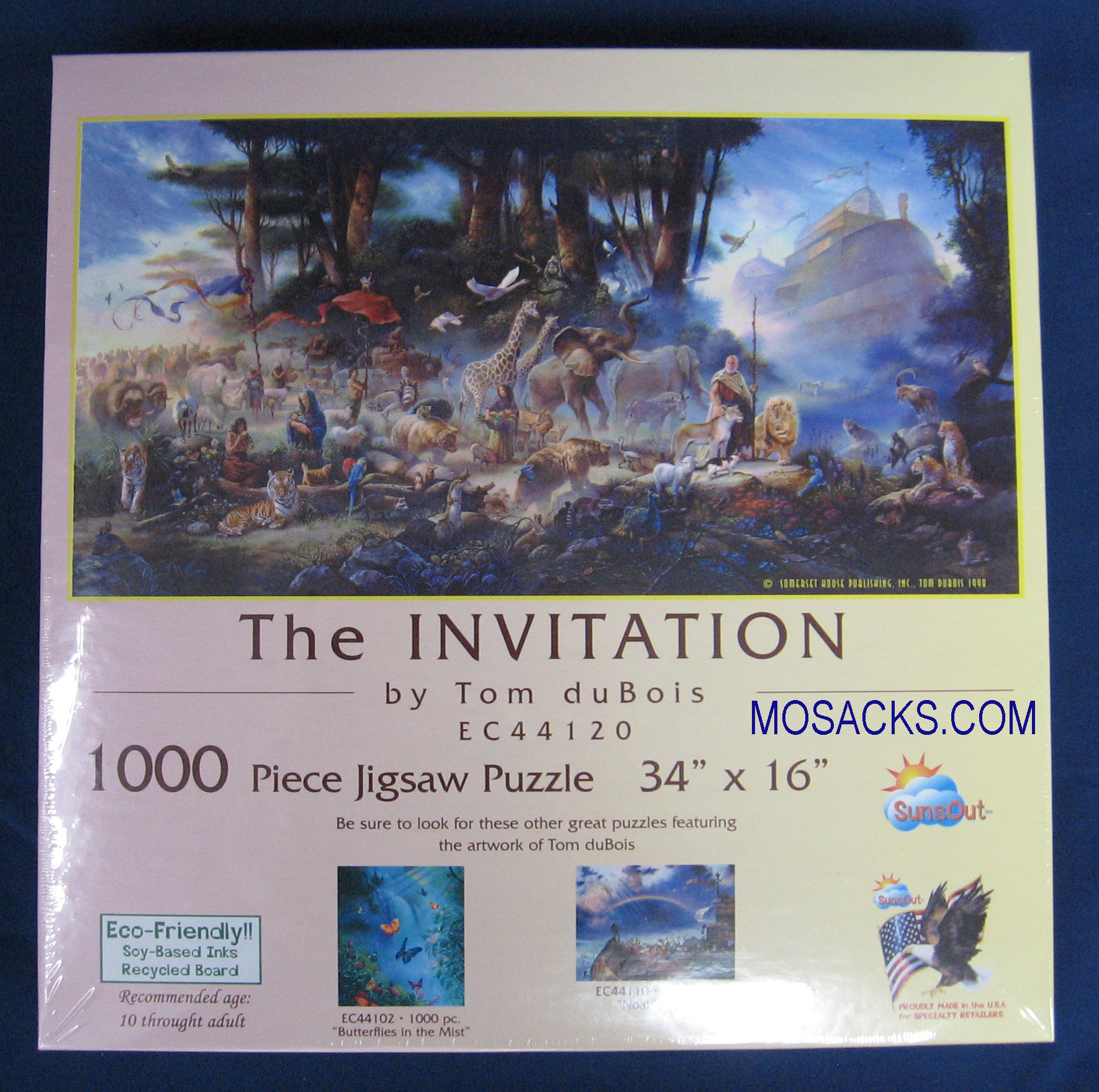 The Invitation 1000 piece 34x16 Inch Puzzle EC44120