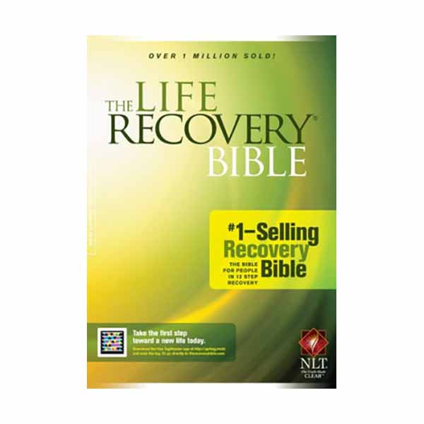 The Life Recovery Bible (NLT) from Tyndale Publishers 108-9781414309613