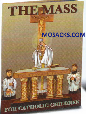 The Mass For Catholic Children by Fr. Daniel A Lord SJ12-2574