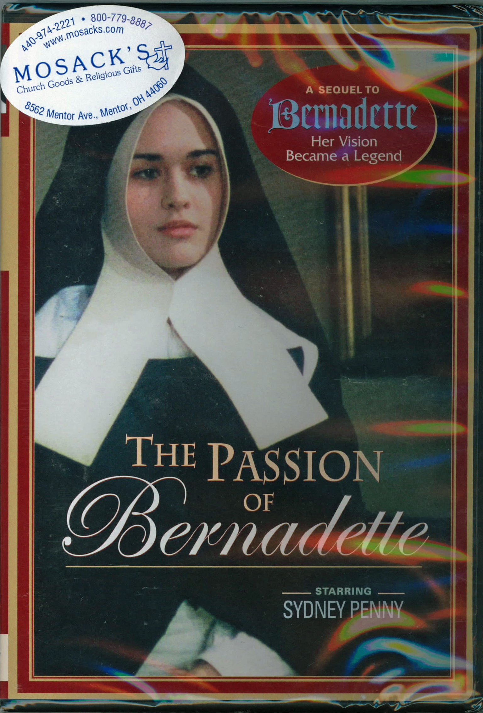 The Passion of Bernadette DVD from Ignatius Press 360-PB-M