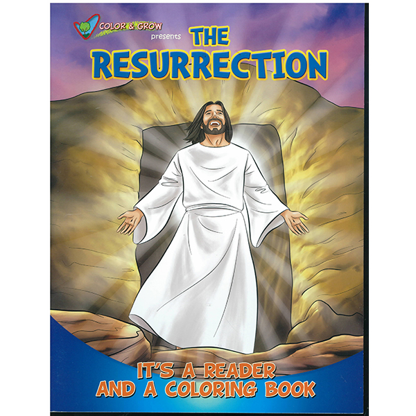 The Resurrection Color and Grow Coloring Book-CAG-RES