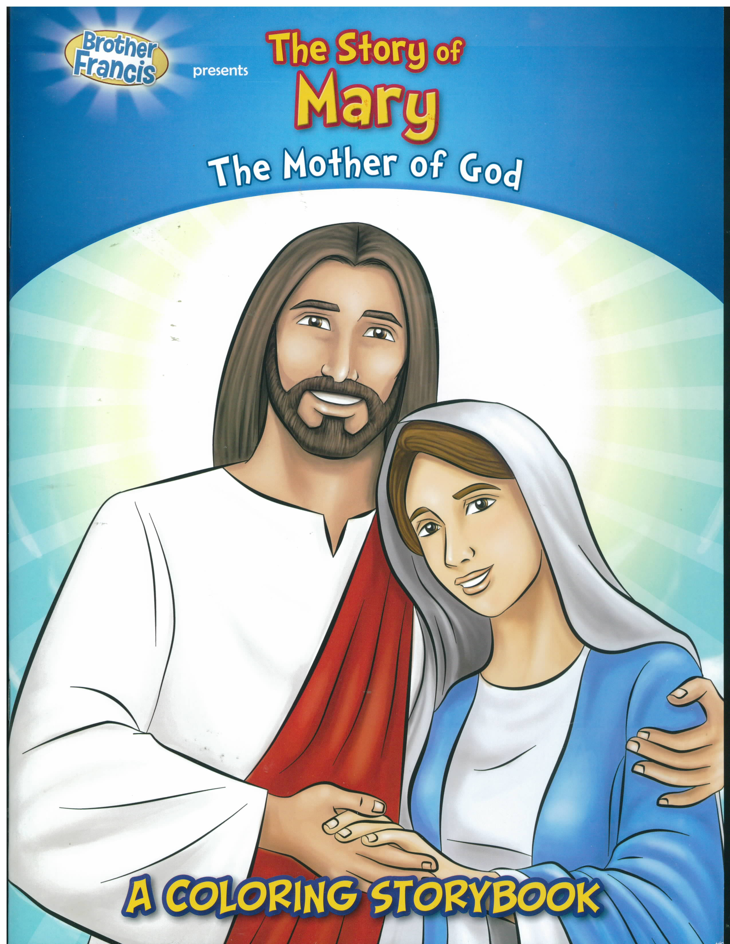 The Story of Mary Coloring Storybook-CBS-MA