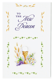 To The New Deacon Greeting Card- DEAC87199