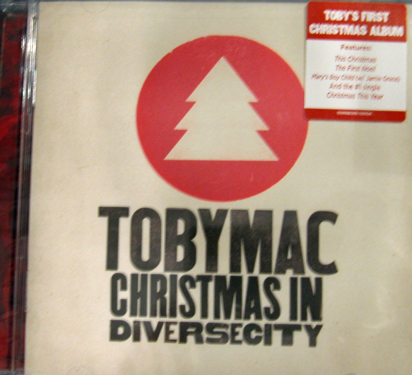 TobyMac: Christmas In Diverse City, Music CD