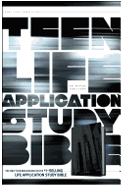 Tyndale Teen Life Application Study Bible-NLT-Steel City 9781414324654