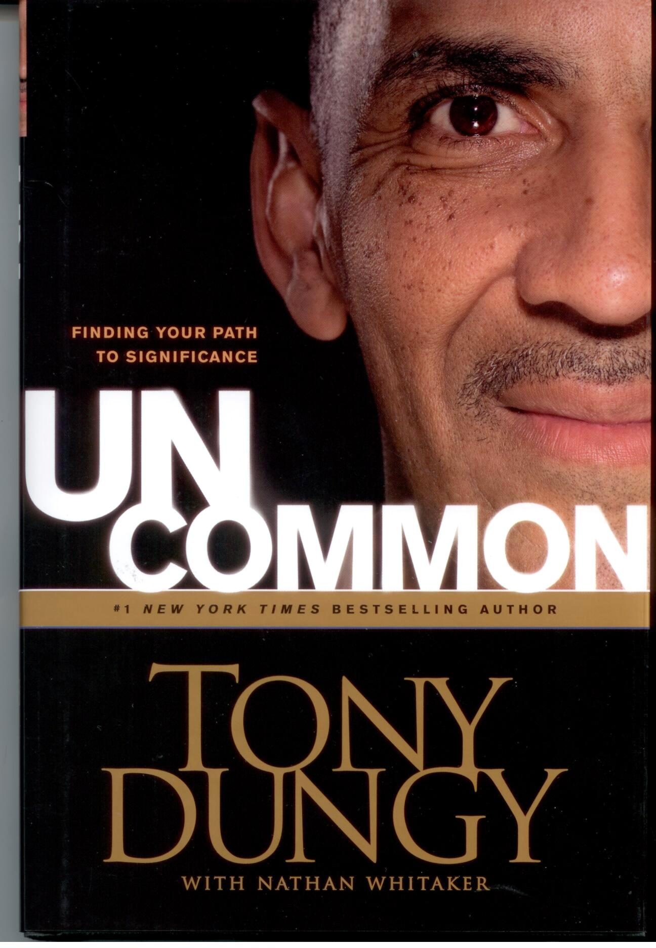 Uncommon by Tony Dungy 108-9781414326818