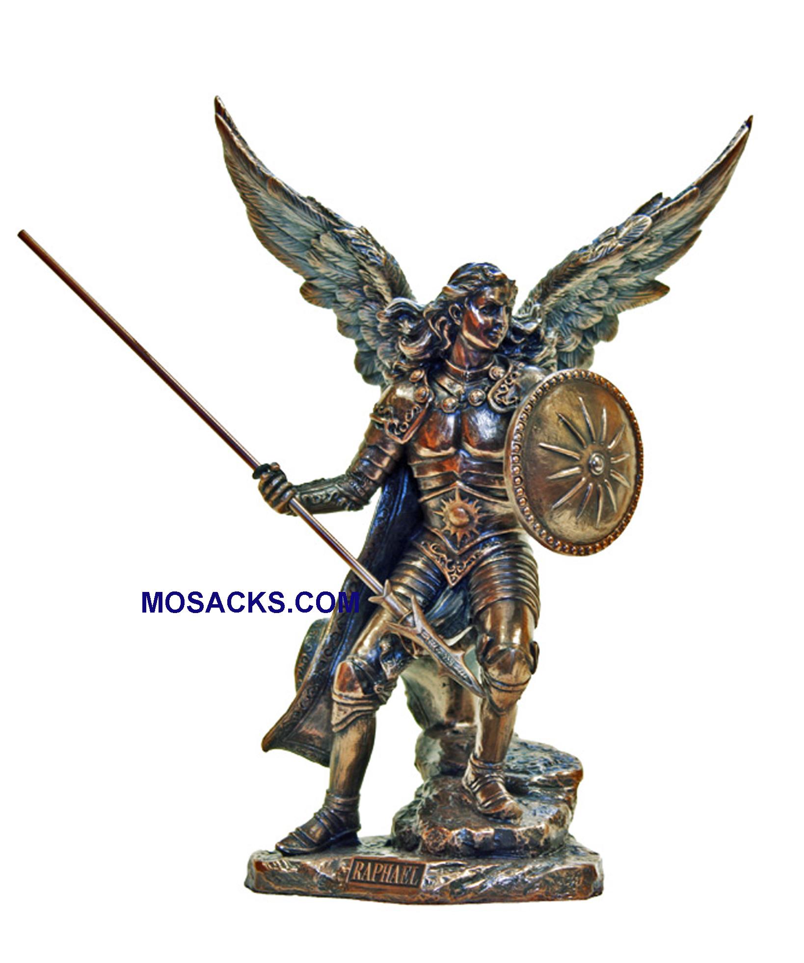 St Raphael Archangel Statue: Veronese Statuary