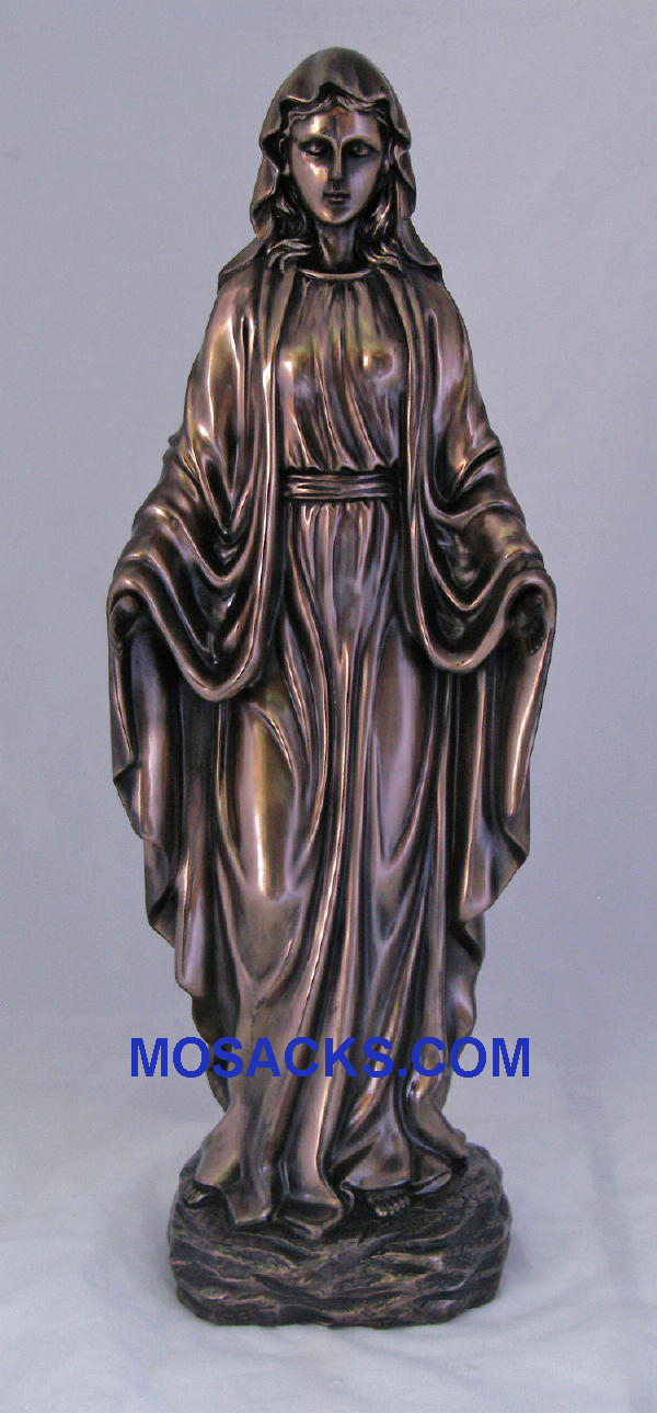 "Our Lady of Grace Veronese Bronze Statue 20"", SRA-LOG20"