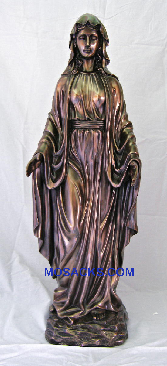 "Our Lady of Grace Veronese Bronze Statue 39"", SRA-LOG39"