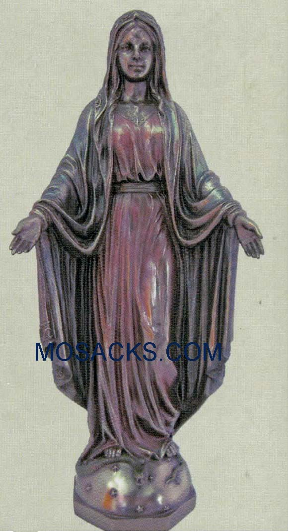 "Our Lady of Grace Veronese Bronze, 10"", SR-75009"
