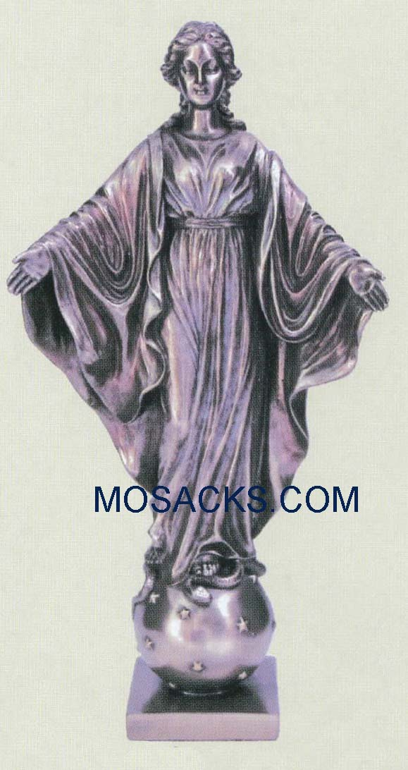 "Our Lady of the Smiles Veronese Bronze, 9"", SR-75217"